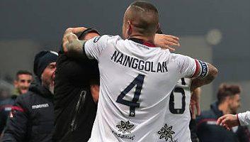 Sassuolo  2 - 2  Cagliari