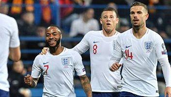 Montenegro  1 - 5  England