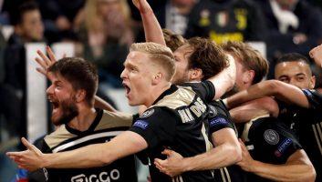 Juventus  1 - 2  Ajax