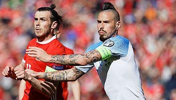 Wales  1 - 0  Slovakia