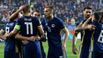 Bosnia and Herzegovina  2 - 0  N.Ireland
