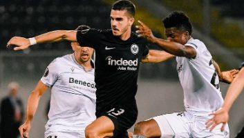 Vitoria de Guimaraes  0 - 1  Eintracht Frankfurt