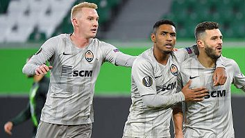 Video Wolfsburg  1 - 2  Shakhtar Donetsk (Europa League)