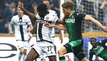 Sassuolo  0 - 1  Parma