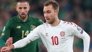 Ireland  1 - 1  Denmark