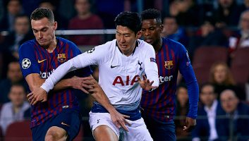 Barcelona  1 - 1  Tottenham Hotspur