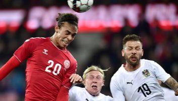 Denmark  2 - 0  Austria
