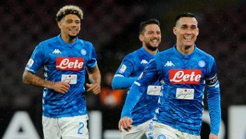 SSC Napoli  2 - 1  Lazio