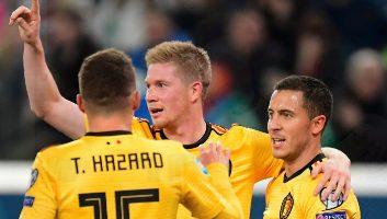 Russia  1 - 4  Belgium