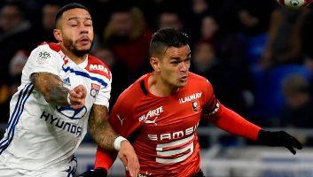Lyon  0 - 2  Rennes
