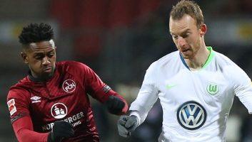 Nuernberg  0 - 2  Wolfsburg