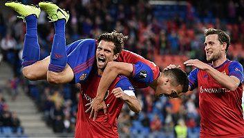 Basel  5 - 0  FC Krasnodar