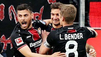 Bayer Leverkusen  6 - 1  Eintracht Frankfurt