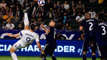 Highlight: Los Angeles Galaxy vs New England Revolution