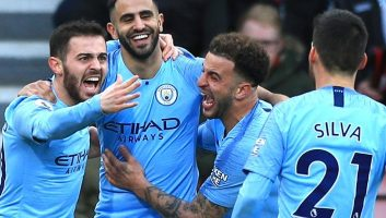 AFC Bournemouth  0 - 1  Manchester City