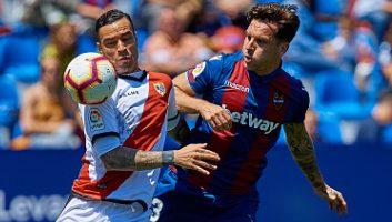 Levante  4 - 1  Rayo Vallecano