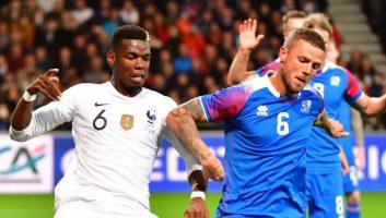 France  2 - 2  Iceland