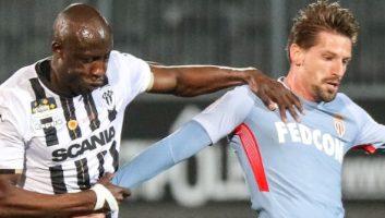 Angers  2 - 2  Monaco