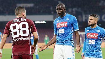 SSC Napoli  0 - 0  Torino