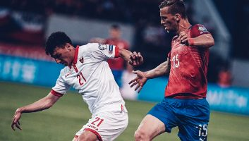 Czech Republic  3 - 0  Montenegro