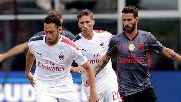 AC Milan  0 - 1  Benfica