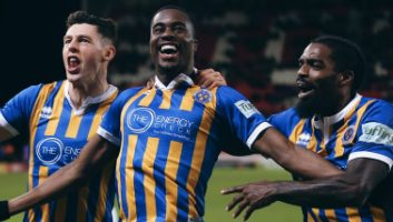 Stoke City  2 - 3  Shrewsbury Town