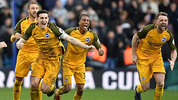 Millwall  2 - 2  Brighton & Hove [PEN: 4-5]