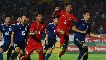 Myanmar  0 - 2  Japan