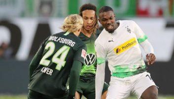 Wolfsburg  2 - 1  Borussia M'gladbach