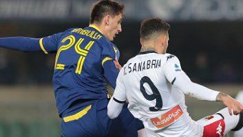 Hellas Verona  2 - 1  Genoa