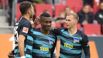 Augsburg  3 - 4  Hertha Berlin