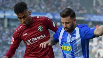 Hertha Berlin  0 - 0  Hannover 96