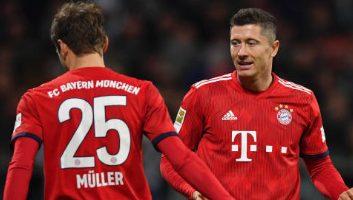 Werder Bremen  1 - 2  Bayern Munich