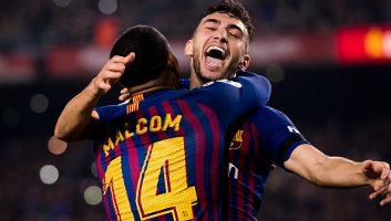 Barcelona  4 - 1  Leonesa