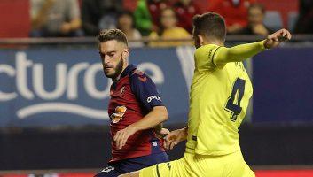 Osasuna  2 - 1  Villarreal