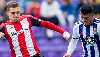 Real Valladolid  1 - 4  Athletic Bilbao