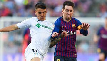Barcelona  2 - 0  Getafe