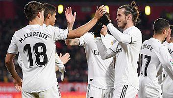 Girona  1 - 3  Real Madrid