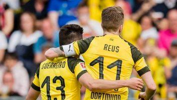 Freiburg  0 - 4  Borussia Dortmund