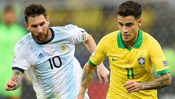 Brazil  2 - 0  Argentina