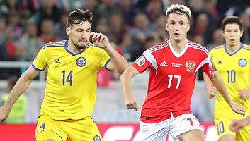 Russia  1 - 0  Kazakhstan