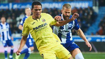 Deportivo Alaves  1 - 2  Villarreal