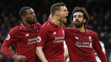 Fulham  1 - 2  Liverpool