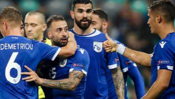 Slovenia  1 - 1  Cyprus