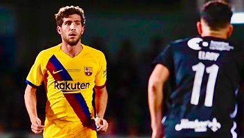 Cartagena  0 - 2  Barcelona