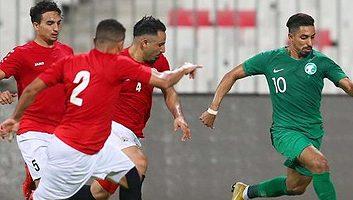 Yemen  2 - 2  Saudi Arabia