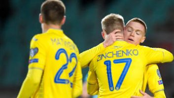 Luxembourg  1 - 2  Ukraine
