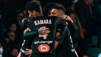 Nimes  2 - 3  Marseille