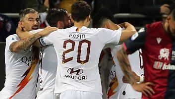 Cagliari  3 - 4  Roma