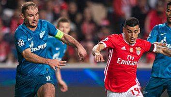 Video Benfica  3 - 0  Zenit St. Petersburg (Champions League)